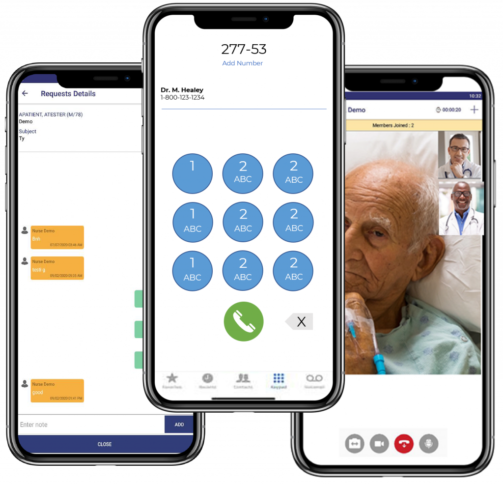 SNFConnect Chat Phone and Telehealth